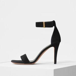 Celine iconic suede sandal